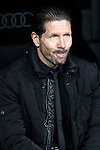Atletico de Madrid's coach Diego Pablo Cholo Simeone during La Copa match.February 5,2014. (ALTERPHOTOS/Acero)