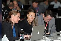 Boston Breakers draft team.. The WPS draft 2012 was held at the Kansas City Convention Center, Kansas City, MO.