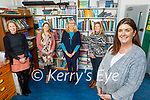 The staff of Derryquay NS. Front right: Ide Brosnan (Principal). Back l to r: Brid Nic Ghearilt, Amy Horgan, Mary Wallace and Kara Walsh.