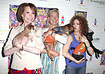 Mary Tyler Moore & Nell Newman & Bernadette Peters.Backstage at Broadway Barks Lucky 13th Annual Adopt-a-thon  in New York City.