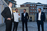 From left to right Victor Claver, Juan Carlos Navarro, Rudy Fernandez and Pau Ribas during the first edition of Spanish Basketball Awards. July 25, 2019. (ALTERPHOTOS/Francis Gonzalez)