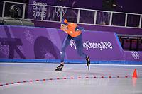 OLYMPIC GAMES: PYEONGCHANG: 15-02-2018, Gangneung Oval, Long Track, 10.000m Men, Sven Kramer (NED), ©photo Martin de Jong
