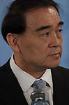 Chinese Representative Speaks to Media on Libya