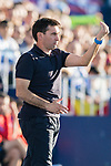Coach Asier Garitano Aguirrezabal of CD Leganes gestures during the La Liga 2017-18 match between CD Leganes vs FC Barcelona at Estadio Municipal Butarque on November 18 2017 in Leganes, Spain. Photo by Diego Gonzalez / Power Sport Images