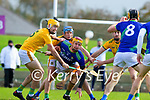 Micheál O'Leary, Kerry, during the Round 1 meeting of Kerry and Meath in the Joe McDonagh Cup at Austin Stack Park in Tralee on Sunday.