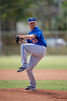 New York Mets Pitcher Witt Haggard (60) during a minor league Spring Training game against the Miami Marlins on March 26, 2017 at the Roger Dean Stadium Complex in Jupiter, Florida.  (Mike Janes/Four Seam Images)