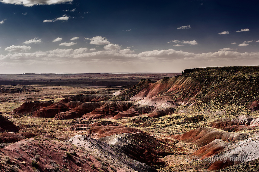 A view of the Painted Desert in northeastern Arizona
