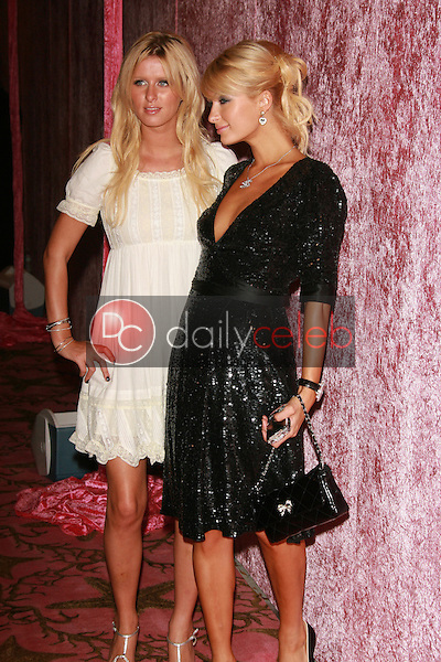 Nicky Hilton and Paris Hilton<br />at the 2006 HBO Emmy After Party. Pacific Design Center, West Hollywood, CA. 08-27-06<br />Dave Edwards/DailyCeleb.com 818-249-4998