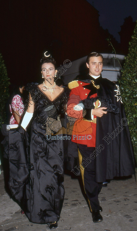 PAMELA ALVIN<br /> PREMIO CONDOTTI - SCALINATA TRINITA' DEI MONTI ROMA 1987
