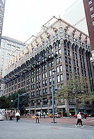 PA.: Pittsburgh--Union Trust Building 1916. 535 Grant St. Frederick Osterling, Arch. for H. C. Frick. Flemish Gothic with shopping arcade inside. (Photo 2001)