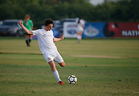 Frisco, Texas - Thursday, July 26, 2018: 2018 US Youth Soccer National Championships. 15U Boys SA Mount Pleasant 03 Premier vs OK Energy FC Central 03