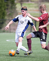 The Winthrop University Eagles played the UNC Wilmington Seahawks in The Manchester Cup on April 5, 2014.  The Seahawks won 1-0.  Magnus Thorsson (8), Jordi Lluch (3), Kellen Foster (12)