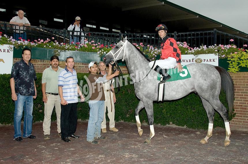Smoke n' Oakum winning at Delaware Park on 9/16/09