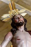 Thron der Bruderschaft Archicofradia de Jesús Resucitado (Aufersteheung)  in Lorca,  Provinz Murcia, Spanien, Europa