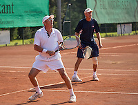 Etten-Leur, The Netherlands, August 23, 2016,  TC Etten, NVK, Doubles : Peter Vaarties (NED) (L) and Benno de Jel (NED)<br /> Photo: Tennisimages/Henk Koster