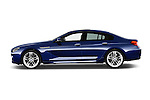 Car driver side profile view of a 2015 BMW 6 Series M Sport 2 Door Coupe