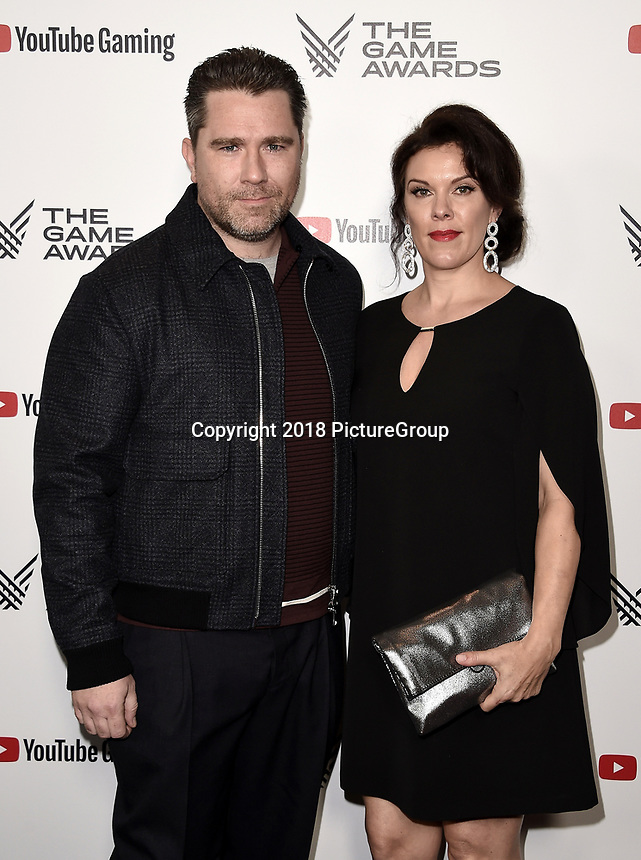LOS ANGELES - DECEMBER 6: (L-R) Roger Clark and Molly Clark attend the 2018 Game Awards at the Microsoft Theater on December 6, 2018 in Los Angeles, California. (Photo by Scott Kirkland/PictureGroup)