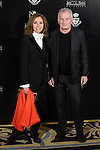 Ana Belen and Victor Manuel attends to the photocall during the delivery of the Golden Medal of the Spanish Cinema Academic to Santiago Segura at Ritz Hotel in Madrid. November 18, Spain. 2016. (ALTERPHOTOS/BorjaB.Hojas)