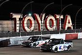 #18: Christian Eckes, Kyle Busch Motorsports, Toyota Tundra Safelite AutoGlass #4: Raphael Lessard, Kyle Busch Motorsports, Toyota Tundra Mobil 1