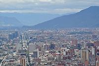 BOGOTÁ -COLOMBIA. Aspecto del norte de la ciudad de Bogotá, Colombia./ northern aspect of the city of Bogota, Colombia. Photo: VizzorImage/ Str