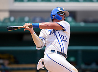 Tampa Jesuit Tigers Cole Russo (22) during the 42nd Annual FACA All-Star Baseball Classic on June 5, 2021 at Joker Marchant Stadium in Lakeland, Florida.  (Mike Janes/Four Seam Images)