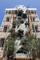 Asie/Israel/Tel-Aviv-Jaffa: Immeuble au 181 Rue Hayarkon construit par l'architecte suisse Léon Genieva