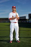Mar 01, 2010; Jupiter, FL, USA; St. Louis Cardinals  infielder Daniel Descalso (87) during  photoday at Roger Dean Stadium. Mandatory Credit: Tomasso De Rosa/ Four Seam Images