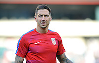 Philadelphia, PA - June 11, 2016: USA defender Geoff Cameron (20) during a Copa America Centenario Group A match between United States (USA) and Paraguay (PAR) at Lincoln Financial Field.