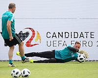 Torwart Marc-Andre ter Stegen (Deutschland Germany) im Training - 29.05.2018: Training der Deutschen Nationalmannschaft zur WM-Vorbereitung in der Sportzone Rungg in Eppan/Südtirol