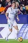 Toni Kroos of Real Madrid (L) fights for the ball with Jorge Andujar Moreno, Coke, of Levante UD (R) during the La Liga 2017-18 match between Levante UD and Real Madrid at Estadio Ciutat de Valencia on 03 February 2018 in Valencia, Spain. Photo by Maria Jose Segovia Carmona / Power Sport Images