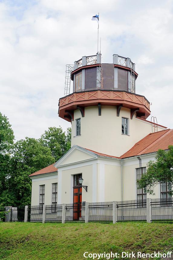 Observatorium in Tartu, Teil des Struve-Bogen, Estland, Europa, Unesco-Weltkulturerbe