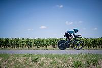 Alex Aranburu (ESP/Astana - Premier Tech)<br /> <br /> Stage 20 (ITT) from Libourne to Saint-Émilion (30.8km)<br /> 108th Tour de France 2021 (2.UWT)<br /> <br /> ©kramon