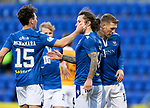 St Johnstone v Motherwell…21.11.20   McDiarmid Park      SPFL<br />Stevie May celebrates his penalty to make it 1-1<br />Picture by Graeme Hart.<br />Copyright Perthshire Picture Agency<br />Tel: 01738 623350  Mobile: 07990 594431
