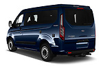 Car pictures of rear three quarter view of 2020 Ford Transit-Custom Nugget 4 Door Camper Van Angular Rear