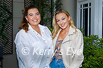 Enjoying the evening in the Ashe Hotel on Saturday, l to r: Sarah Redmond and Zoe Riordan Donnelly.