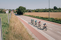 breakaway group<br /> <br /> 98th Brussels Cycling Classic 2018<br /> One Day Race:  Brussels > Brussels (201km)