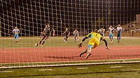 Downey, CA - Wednesday May 23, 2018: FC Golden State Force (PDL) defeated the Las Vegas Lights FC (USL) 2-1 during a 2018 Lamar Hunt U.S. Open Cup third round match at Allen Layne Stadium.