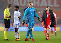 Daniel Ward of Wales during the international friendly soccer match between Wales and Panama at Cardiff City Stadium, Cardiff, Wales, UK. Tuesday 14 November 2017.