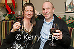 Sharon Roche and Mark O'Donoghue enjoying the evening in the Brogue Inn on Saturday.