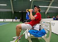 19-01-13, Tennis, Rotterdam, Wildcard for qualification ABNAMROWTT, Ton Smit