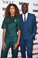 """Emilia and Oswald Boateng<br /> arriving for the """"Widows"""" special screening in association with Vogue at the Tate Modern, London<br /> <br /> ©Ash Knotek  D3457  31/10/2018"""