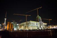 2015/12/03 Berlin | Nachtaufnahmen Dom | Altes Museum | Stadtschlossbaustelle