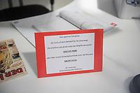 Eroeffnung der S-Bahnwache auf dem Berliner S- und Fernbahnhof Ostkreuz am Mittwoch den 15. August 2018.<br /> Die Sicherheitskraefte sind rund um die Uhr mit Schutzhunden im Einsatz.<br /> 15.8.2018, Berlin<br /> Copyright: Christian-Ditsch.de<br /> [Inhaltsveraendernde Manipulation des Fotos nur nach ausdruecklicher Genehmigung des Fotografen. Vereinbarungen ueber Abtretung von Persoenlichkeitsrechten/Model Release der abgebildeten Person/Personen liegen nicht vor. NO MODEL RELEASE! Nur fuer Redaktionelle Zwecke. Don't publish without copyright Christian-Ditsch.de, Veroeffentlichung nur mit Fotografennennung, sowie gegen Honorar, MwSt. und Beleg. Konto: I N G - D i B a, IBAN DE58500105175400192269, BIC INGDDEFFXXX, Kontakt: post@christian-ditsch.de<br /> Bei der Bearbeitung der Dateiinformationen darf die Urheberkennzeichnung in den EXIF- und  IPTC-Daten nicht entfernt werden, diese sind in digitalen Medien nach §95c UrhG rechtlich geschuetzt. Der Urhebervermerk wird gemaess §13 UrhG verlangt.]