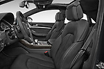 Front seat view of 2014 Audi S8 Base 4 Door Sedan front seat car photos