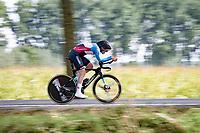 Dylan Bibic (CAN)<br /> <br /> Junior Men Individual Time Trial from Knokke-Heist to Bruges (22.3 km)<br /> <br /> UCI Road World Championships - Flanders Belgium 2021<br /> <br /> ©kramon