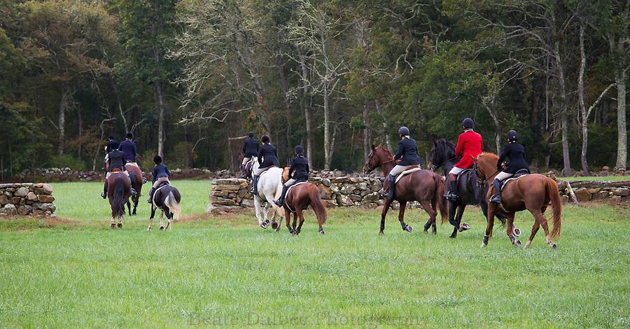 Barney's Joy hunt with the Norfolk Hunt Club