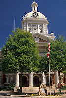 AJ2119, courthouse, Georgia, Madison, The Morgan County Courthouse in Madison is a blend of formal and country architecture.