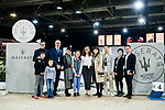 Guests pose for a photo prior to the Maserati Masters Power during the Longines Masters of Hong Kong at AsiaWorld-Expo on 10 February 2018, in Hong Kong, Hong Kong. Photo by Diego Gonzalez / Power Sport Images