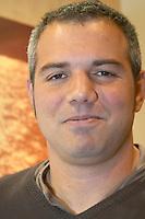 Julien Pilon, The winemaker at Domaine Madeloc. Roussillon, France