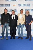BENOIT HABERG, LUC BESSON, BENOIT JACQUOT, ALAIN CHABAT - AVANT-PREMIERE DU FILM 'VALERIAN ET LA CITE DES MILLES PLANETES' A LA CITE DU CINEMA, SAINT-DENIS, FRANCE, LE 25/07/2017.